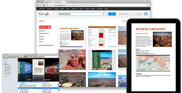 Google acaba de estrenar oficialmente su 'disco duro virtual', Google Drive