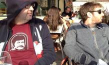 Gorka Otxoa y Carlos Areces en Oporto