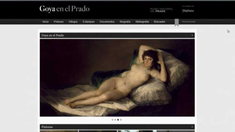 La web del Prado acerca Goya a cualquier parte del mundo