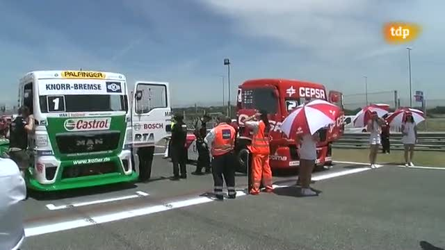 """Carreras de camiones - Campeonato de Europa """"GP Camión de las naciones"""""""