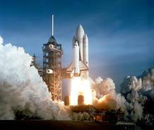 Lanzamiento de la primera misión en 1981