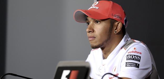 El piloto británico de la escudería McLaren Mercedes de Fórmula 1, Lewis Hamilton