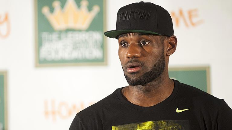 Gran recibimiento a LeBron James en su regreso a Cleveland