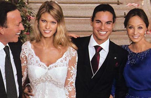 Las grandes ausencias en la boda de Julio José Iglesias y Charisse Verhaert