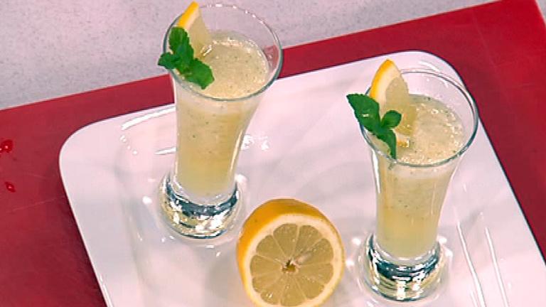 Blog de Nutricocina -  Granizado de limón y cava