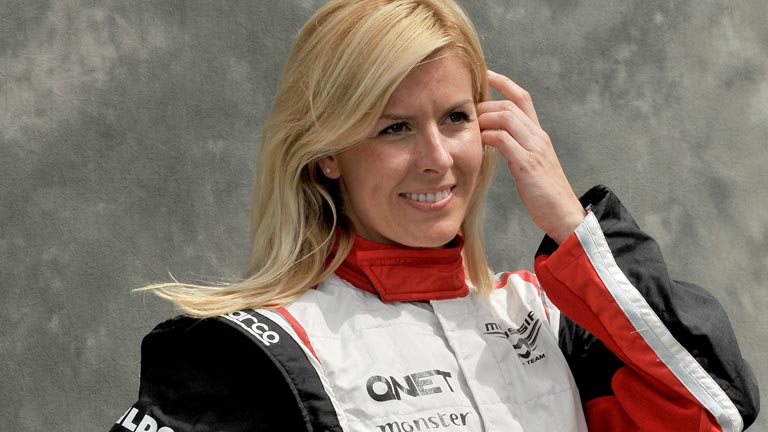 Grave accidente de Mar&iacute;a de Villota