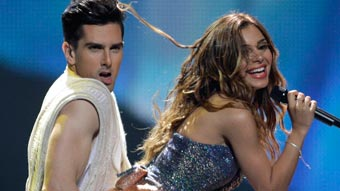 Ver v&iacute;deo  'Grecia Eurovisi&oacute;n 2012 - Eleftheria Eleftheriou - 1&ordf; semifinal'