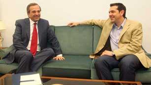 Ver vídeo  'En Grecia socialistas y conservadores de Nueva Democracia dispuestos a formar gobierno'