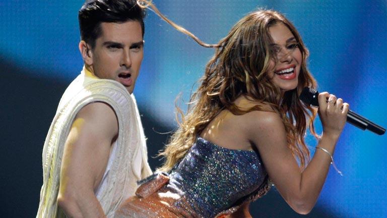 Grecia Eurovisión 2012 - Eleftheria Eleftheriou - 1ª semifinal