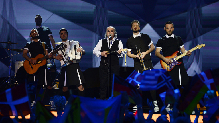 Final de Eurovisin 2013 - Grecia