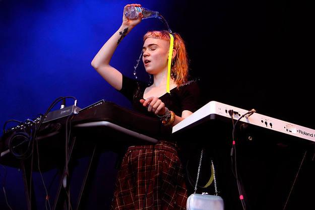 Grimes en el Primavera Sound 2012