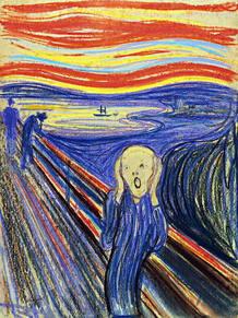 """Única de las cuatro versiones de """"El grito"""" del pintor noruego Edvard Munch que quedaba en manos privadas."""