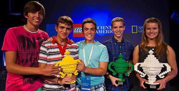 Los jóvenes ganadores del 'Google Science Fair 2012'