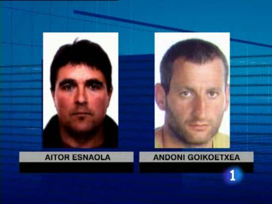 La Guardia Civil deja en libertad a Igor Esnaola, uno de los hermanos del almacén de ETA