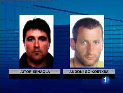Ver v?deo  'La Guardia Civil deja en libertad a Igor Esnaola, uno de los hermanos del almacén de ETA'