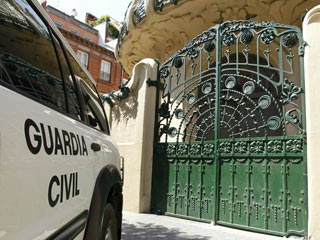 Ver vídeo  'La Guardia Civil registra la SGAE'