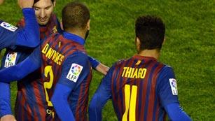 Ver vídeo  'Guardiola critica el baile de Thiago y Alves'
