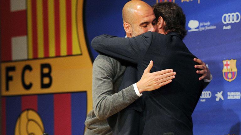 "Guardiola: ""Me he desgastado"""