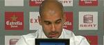 """Guardiola: """"Es la vez que más satisfecho me voy del Bernabéu"""""""