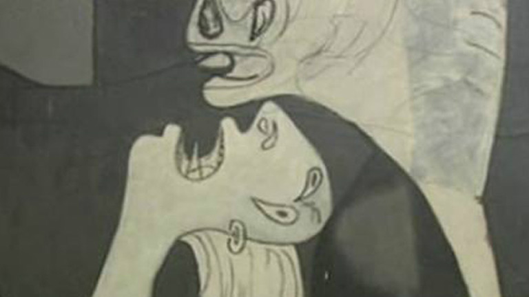 La mitad invisible - El Guernica, de Pablo Ruíz Picasso