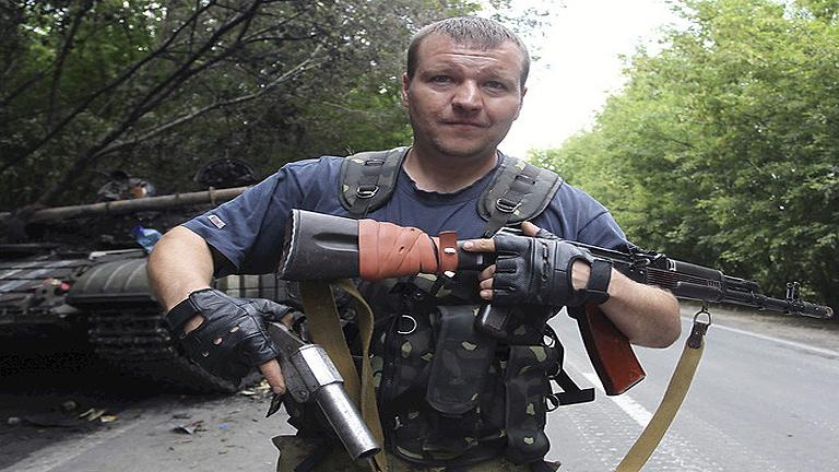 La guerra del este de Ucrania toca de lleno el corazón de Donestk