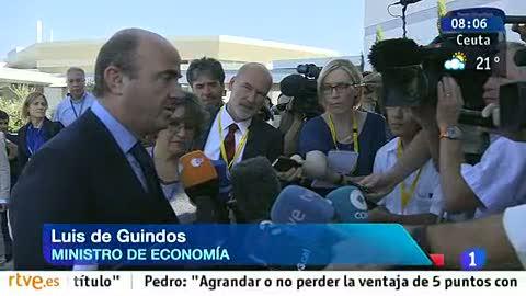 """Ver vídeo  'De Guindos avanza """"anuncios importantes en los próximos días"""" sobre reformas estructurales'"""