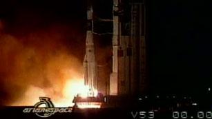Ver vídeo  'Hace 20 años se lanzó el Hispasat, primer satélite de telecomunicaciones de fabricación española'