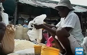 Ver v?deo  'Haití se muere de hambre'