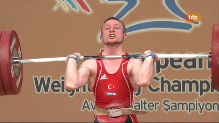 Halterofilia - Campeonato de Europa 62 Kgs. Masculino