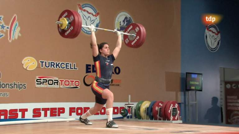 Halterofilia - Campeonato de Europa 69 Kgs. Femenino