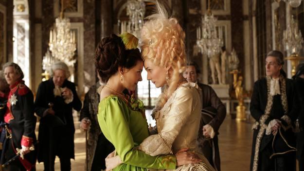 A handout still image taken from the film 'Les adieux a la Reine'