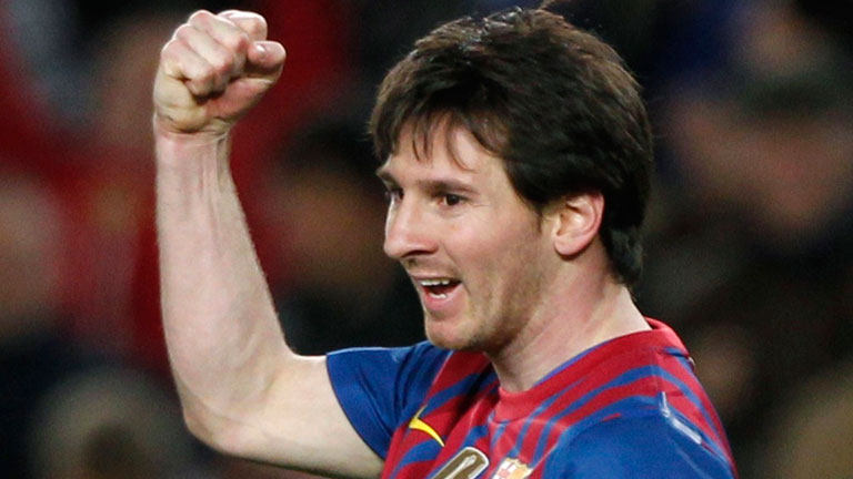 'Hat-trick' de Messi (3-0)