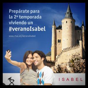 Hazte una foto en un lugar histórico de 'Isabel', súbela a instagram y vive un #veranoIsabel