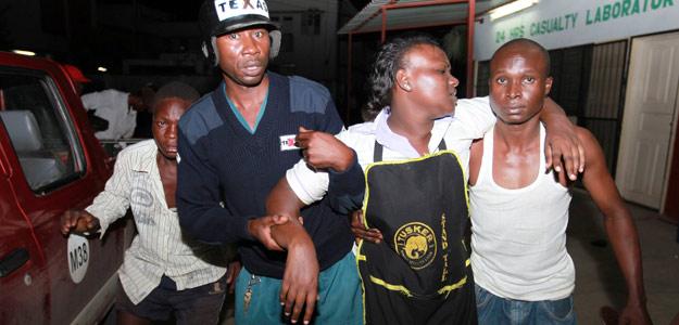 Heridos en la explosión del bar de Kenia atendidos por la Policía