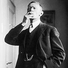 Hermann Hesse fotografiado por Gret Widmann en 1926
