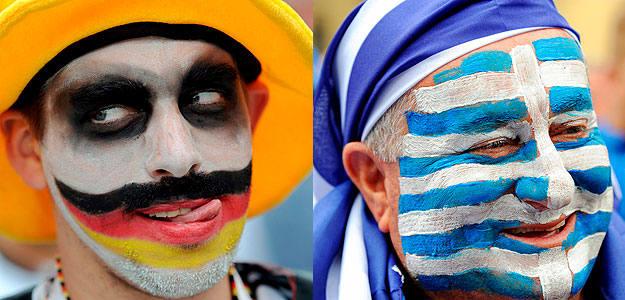 Un hincha alemán y otro griego animarán a sus selecciones en Gdansk.
