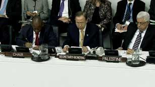 Ver vídeo  'Histórica votación en la ONU sobre Palestina'