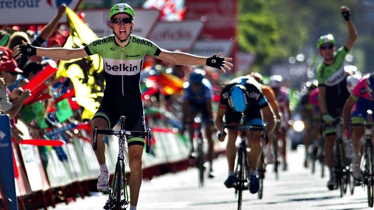 El holandés Mollema sorprende en Burgos; Nibali sigue líder