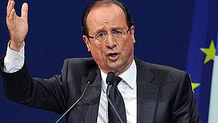 Ver vídeo  'Hollande cree que la perspectiva de su victoria ha hecho cambiar la postura de Merkel'