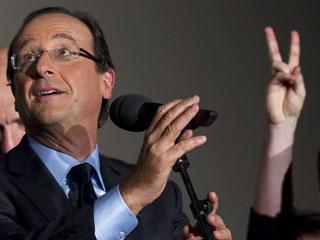Ver vídeo  'Hollande, el elegido para enfrentarse a Sarkozy en las generales'