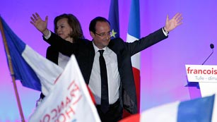 """Ver vídeo  'Hollande: """"Los franceses han elegido el cambio""""'"""