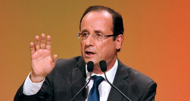 Hollande, el hombre gris que parte como favorito