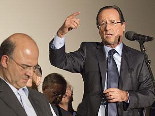 Ver vídeo  'Hollande se enfrentará a Sarkozy en 2012 tras vencer a Aubry en las primarias'
