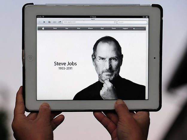 El homenaje de Apple a Steve Jobs en un iPad