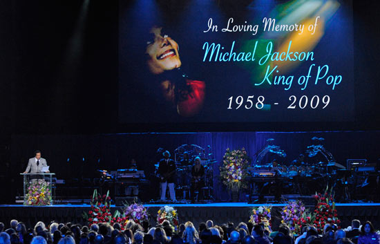 Emotivo homenaje a Michael Jackson en el Staples Center de Los Angeles