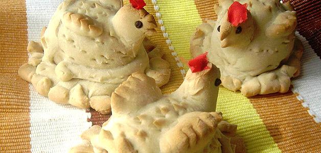 Hornazos de gallina