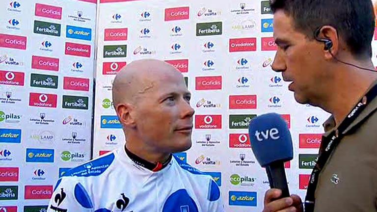 """Horner: """"Me gusta esta Vuelta porque no hay un equipo que domine como en el Tour"""""""