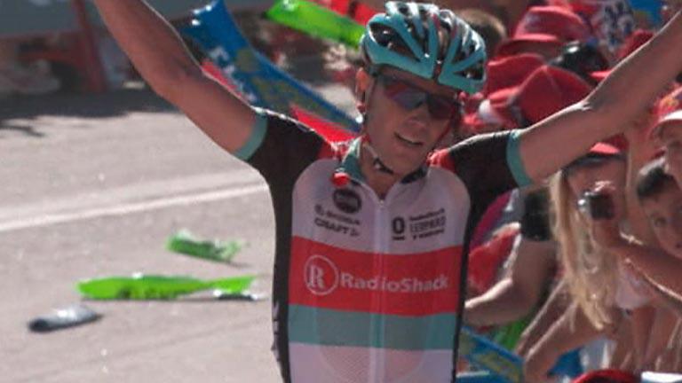 Horner, vencedor de la tercera etapa y líder de la Vuelta