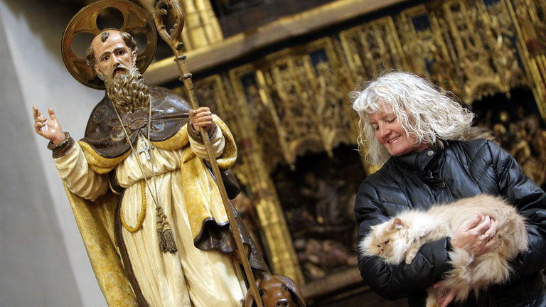 Hoy se celebra el día de San Antón patrón de los animales