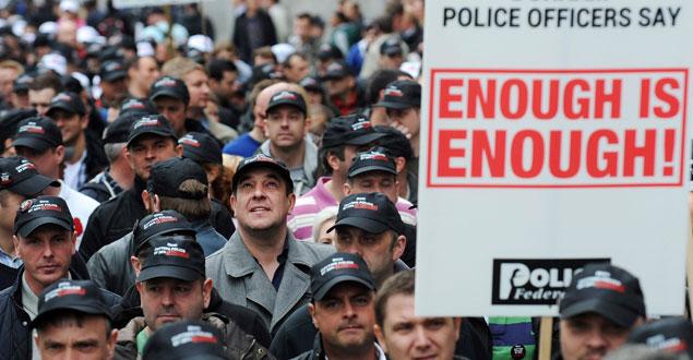 Huelga funcionarios Reino Unido